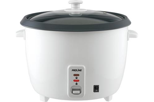 Cuiseur à riz 2,8 litres - jusqu'à 16 portions Fonction maintien au chaud Cuve amovible anti-adhésive - Poignées froides Fournis : cuillère, verre mesureur