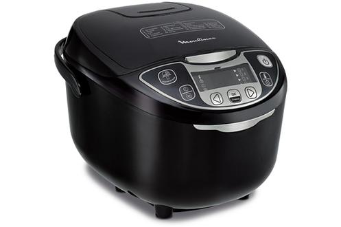 Multicuiseur intelligent - 5 litres 25 programmes de cuisson Départ différé - Maintien au chaud - Minuteur Panier vapeur - Cuillère - Verre doseur - Livre de recettes inclus