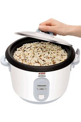 cuiseur riz seb blanc riz 3167720. Black Bedroom Furniture Sets. Home Design Ideas