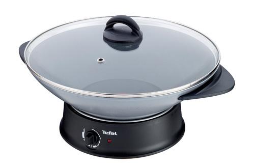 avis clients pour le produit mijoteur tefal wk302013 compact wok fondue. Black Bedroom Furniture Sets. Home Design Ideas