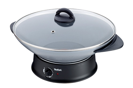 mijoteur tefal wk302013 compact wok fondue darty. Black Bedroom Furniture Sets. Home Design Ideas