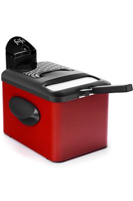 Capacité 3,5 litres - 1 kg de frites fraîches Thermostat réglable - Zone froide Couvercle filtrant anti-graisse et anti-odeur Cuve amovible - Entièrement démontable