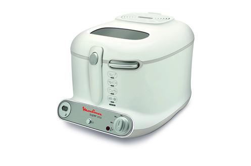 Capacité 2 litres 1,4 kg de frites fraîches Cuve amovible Thermostat réglable