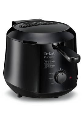 Capacité 1,2 litre - 0,6 kg de frites fraîches Thermostat réglable de 150 à 190°C Parois froide Format compact