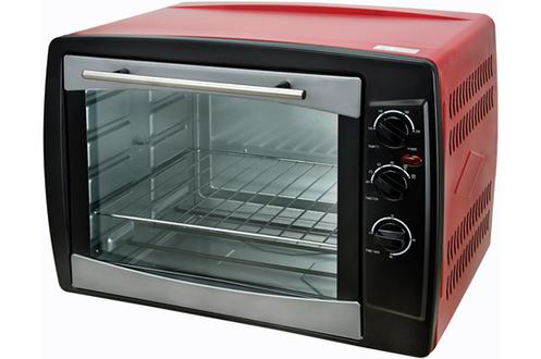 Capacité 65 litres - Puissance 2200 Watts 5 modes de cuisson dont Tournebroche Thermostat réglable jusqu'à 230°C Accessoires : plaque, grille, broche