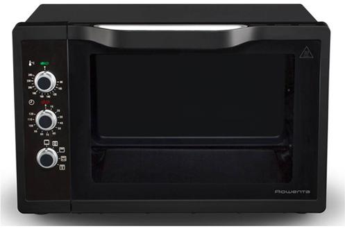 Capacité 40 litres Chaleur tournante - 5 modes de cuisson Fonction tournebroche - Maintien au chaud Minuterie 120 minutes - Livre de 22 recettes