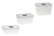 Boîte de rangement Lock & Lock Set de 3 boites de conservation emboitables