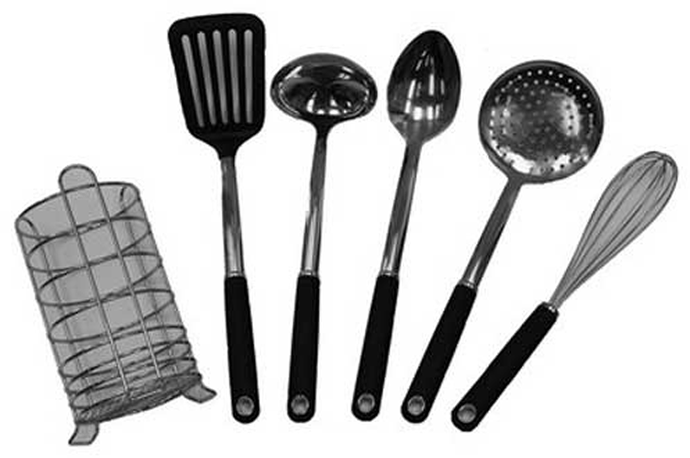 Ustensile de cuisine temium kit kitchen toolx6 1258958 for Nom ustensile de cuisine