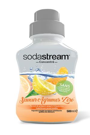Sirop et concentré Sodastream CONCENTRE AGRUMES ZERO 500 ML