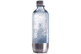 Accessoire machine à soda BOUTEILLE PET 1L GRAND MODELE BASE METAL Sodastream