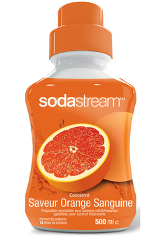 Sirop et concentré CONCENTRE ORANGE SANGUINE 500 ML Sodastream