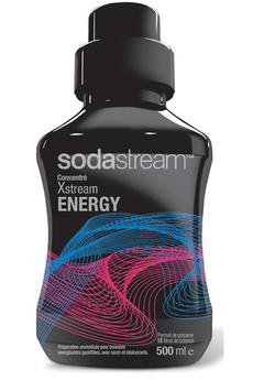 Sirop et concentré CONCENTRE XSTREAM ENERGY 500 ML Sodastream