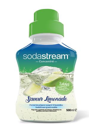 Sirop et concentré Sodastream CONCENTRE LIMONADE 500 ML