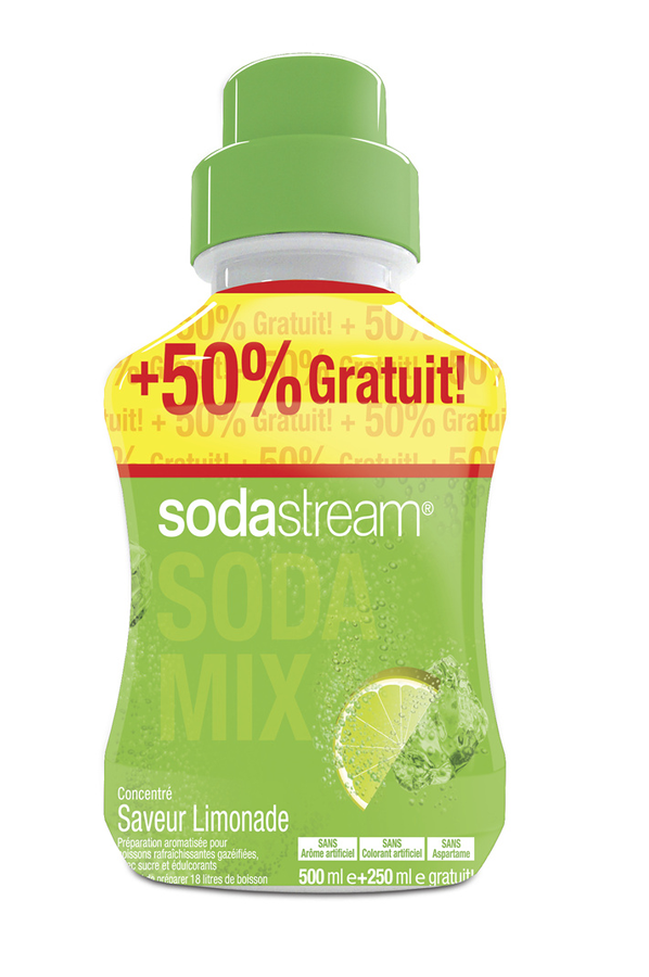 sirop et concentr sodastream concentre limonade 750 ml 1380311 darty. Black Bedroom Furniture Sets. Home Design Ideas