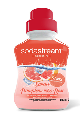 Sirop et concentré Sodastream CONCENTRE PAMPLEMOUSSE ROSE 500 ML