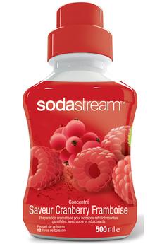 Sirop et concentré CONCENTRE CRANBERRY FRAMBOISE 500 ML Sodastream