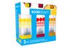 Sodastream PACK 3 BOUTEILLES 1L GRAND MODELE BULLES DE COULEUR photo 1
