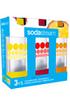 Sodastream PACK 3 BOUTEILLES 1L GRAND MODELE BULLES DE COULEUR photo 5