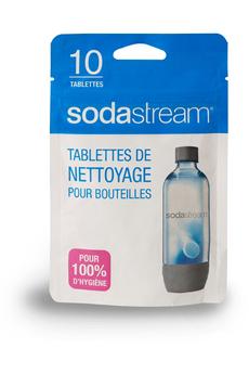 Accessoire machine à soda TABLETTE DE NETTOYAGE X10 Sodastream