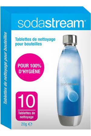 Accessoire machine à soda Sodastream Pastilles - TABLETTES DE NETTOYAGE X10