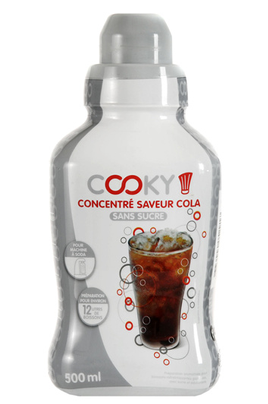 Sirop et concentré Cooky? Cola light 500 ML