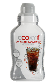 Sirop et concentré Cola light 500 ML Cooky​