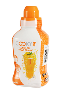 Sirop et concentré Orange 500 ML Cooky​