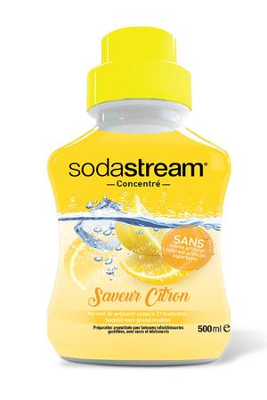 Sirop et concentré Sodastream CONCENTRE CITRON ORIGINAL 500 ML