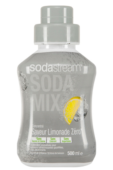 Sirop et concentré CONCENTRE LIMONADE ZERO 500 ML Sodastream