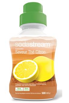 Sirop et concentré CONCENTRE THé CITRON 500 ML Sodastream