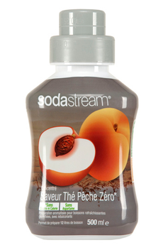 Sirop et concentré THE PECHE ZERO Sodastream
