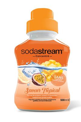 Sirop et concentré Sodastream CONCENTRE TROPICAL 500 ML