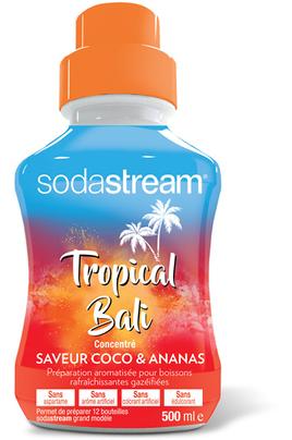 Sirop et concentré Sodastream CONCENTRE TROPICAL BALI COCO ANANAS