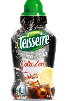 Sirop et concentré Cola zero Teisseire