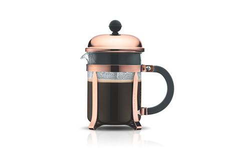 Cafetière à piston  4 tasses  0.5 l  acier inox