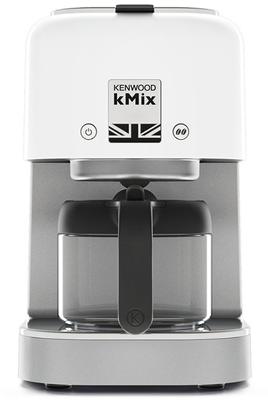 Capacité 0,75 litre - 8 tasses Porte-filtre amovible avec stop-gouttes Plateau chauffe-tasses - Fonction maintien au chaud Sélecteur d'arôme - Arrêt automatique
