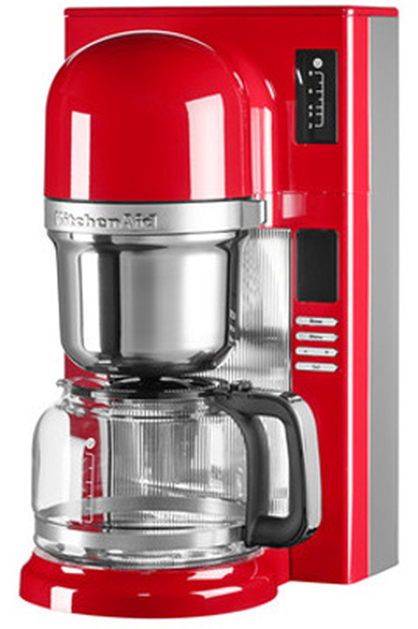 cafeti re filtre kitchenaid 5kcm0802eer rouge empire. Black Bedroom Furniture Sets. Home Design Ideas