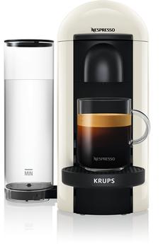 Cafetière à dosette ou capsule Krups Nespresso Vertuo Plus Ivoire 1,2L Krups YY3916FD