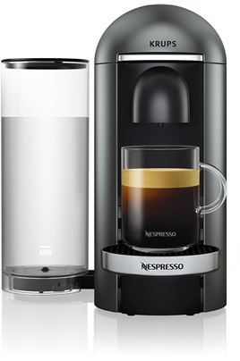 Cafetière à capsules Pour café long 230 ml à court 40 ml Technologie Centrifusion silencieuse Reconnaissance One Touch de la capsule