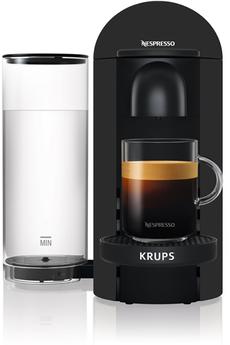 Cafetière à dosette ou capsule Krups Nespresso Vertuo Plus Black Mat 1,2L Krups YY3922FD