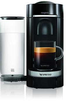 Cafetière à dosette ou capsule Magimix Nespresso Vertuo Plus Noire 1,8L Finitions Chromées Magimix 1