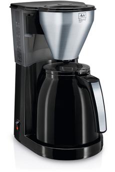 Cafetière filtre EASY TOP THERM 1010-08 NOIR ACIER BROSSÉ Melitta