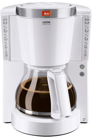 Cafeti re filtre melitta look iv selecti 1011 03 blanc acier bross look iv selecti 1011 darty - Detartrage cafetiere au vinaigre blanc ...