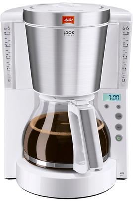 Capacité 1,25L -10 tasses - Puissance 1000 Watts Programme de détartrage - Réglage de la dureté de l'eau Maintien au chaud programmable - Sélecteur d'arôme Fonction Timer - Affichage numérique de l'heure