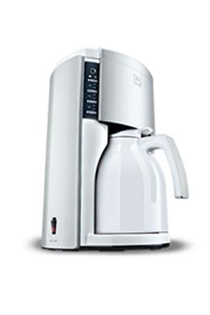 Cafeti re filtre melitta look therm deluxe blanc acier darty - Detartrage cafetiere au vinaigre blanc ...