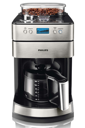 cafeti re filtre philips hd7740 00 avec moulin darty. Black Bedroom Furniture Sets. Home Design Ideas