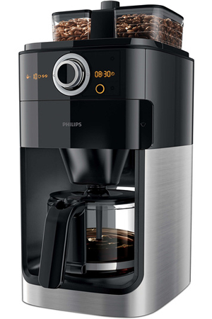 Cafetière Filtre Philips Hd7766 00 Grind Amp Brew Hd7766 00 Darty