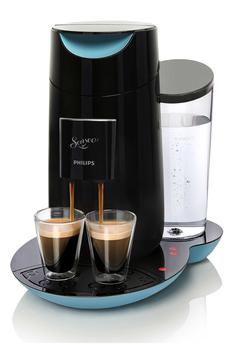 Cafetière à dosette ou capsule SENSEO TWIST HD7870/61 NOIRE SAPHIR Philips