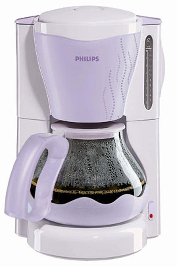 cafeti re filtre philips hd 7502 35 lilas 2517116 darty. Black Bedroom Furniture Sets. Home Design Ideas