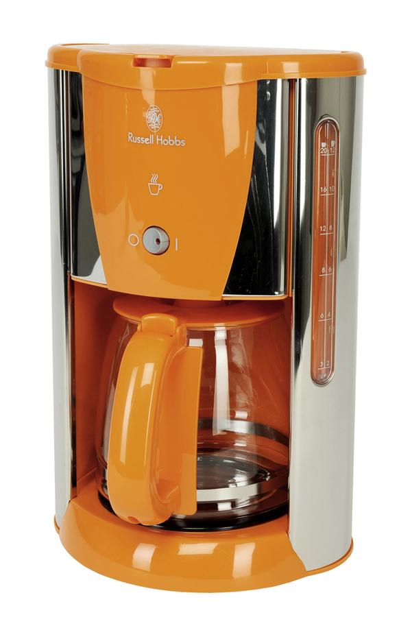 cafeti re filtre russell hobbs 14422 56 orange 2651130. Black Bedroom Furniture Sets. Home Design Ideas